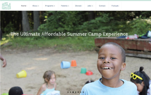 Summer Camp website by Perpetual Solution