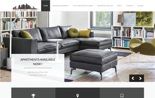 realestate website by Perpetual Solution